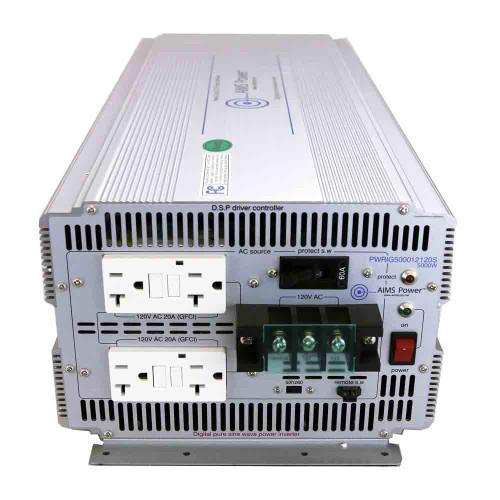 5000 Watt Pure Sine Inverter AC Input