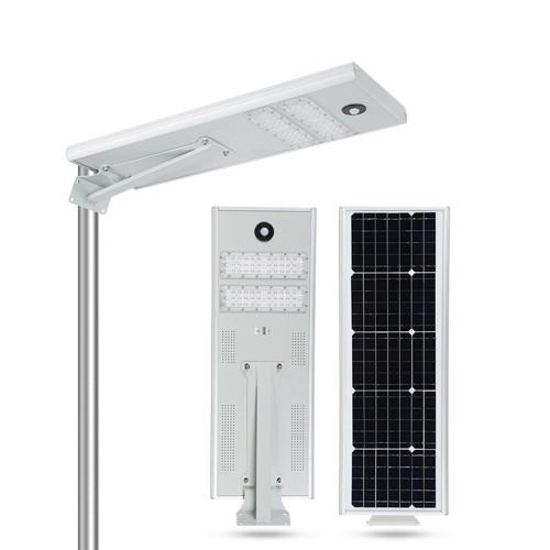 High Lumen Outdoor Waterproof IP65 Motion Sensor 40W 50W LED Solar Street Light