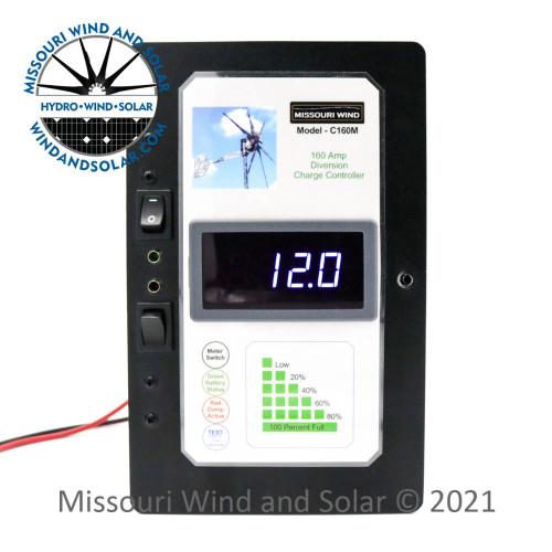 12 Volt 160 Amp 3600 Watt Hybrid Charge Controller
