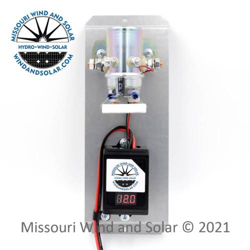 440 Amp Diversion Charge Controller Volt Meter