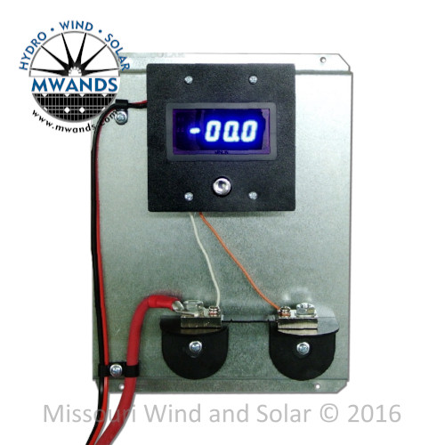 100 Amp Single Digital DC Meter with Pre-Wired Shunt