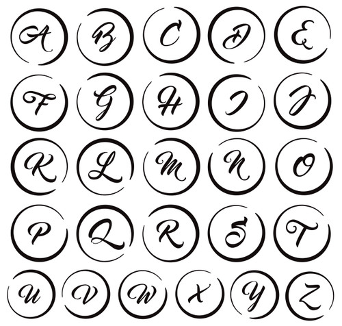 Flash Black Monogram