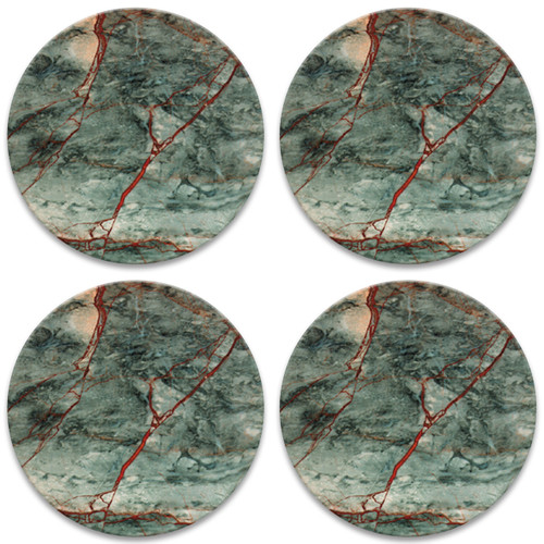 Green & Red Marble