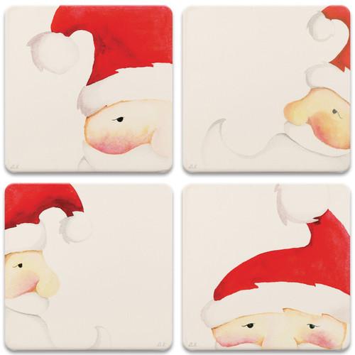 Peek-A-Boo Santas