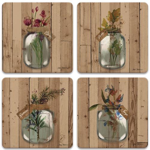 Herbs on Wood