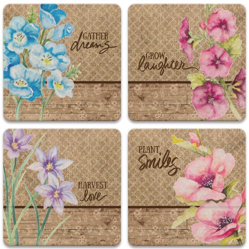 Burlap Floral