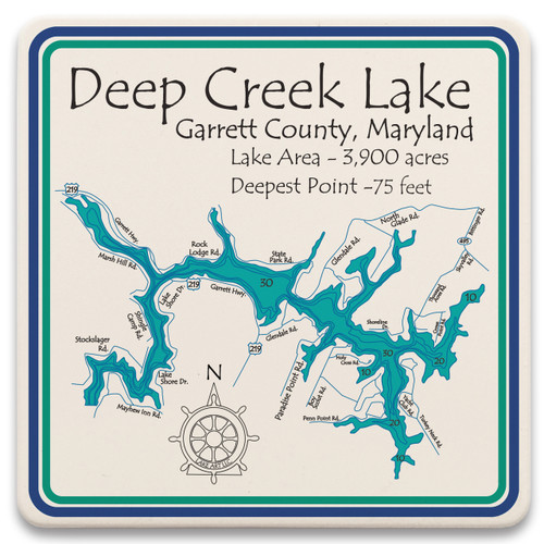 Deep Creek Lake LakeArt