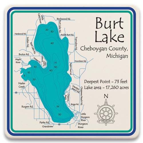 Burt Lake LakeArt