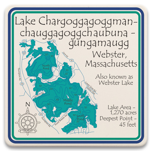 Lake Chaubunagungamaug LakeArt