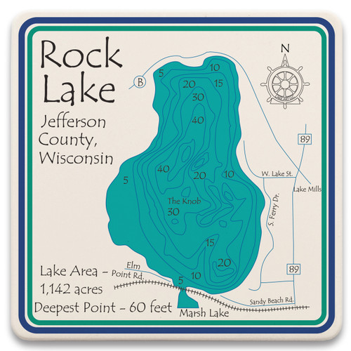 Rock Lake LakeArt