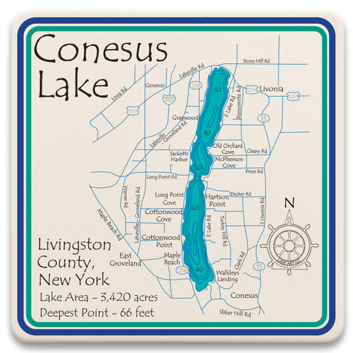 Conesus Lake LakeArt