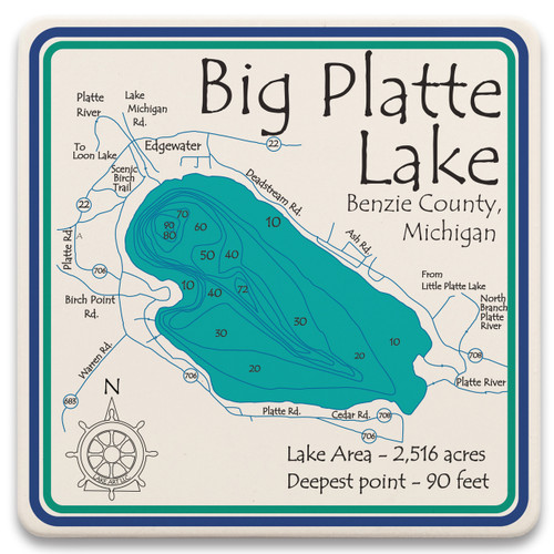 Big Platte Lake LakeArt