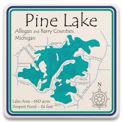 Pine Lake LakeArt
