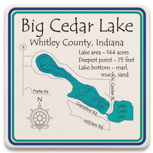 Big Cedar Lake LakeArt