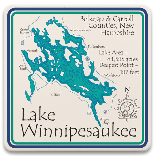 Lake Winnipesaukee LakeArt