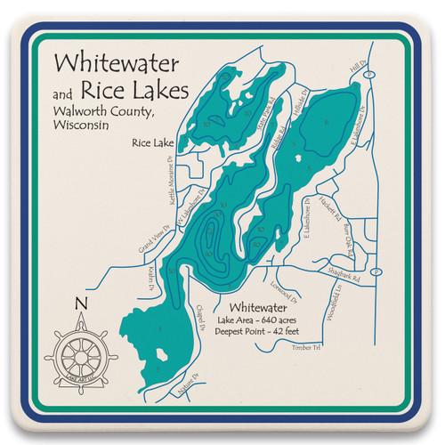 Whitewater & Rice Lakes LakeArt
