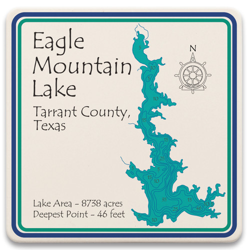 Eagle Moutain Lake LakeArt