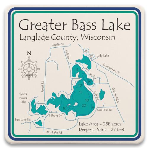 Greater Bass Lake LakeArt
