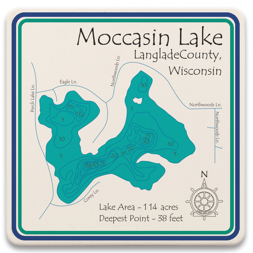 Moccasin Lake LakeArt