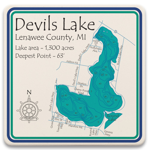 Devils Lake LakeArt
