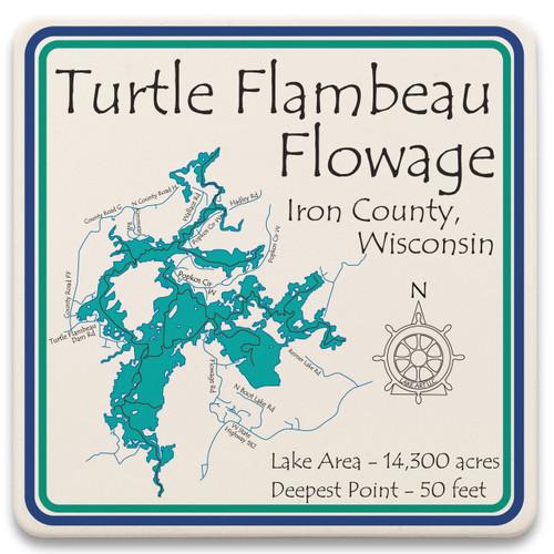 Turtle Flambeau Flowage LakeArt