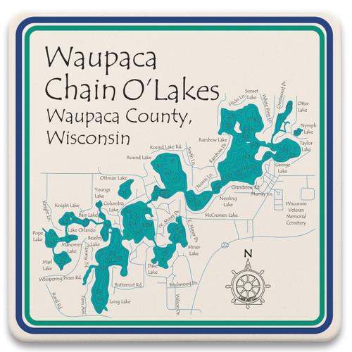Waupaca Chain O Lakes  LakeArt