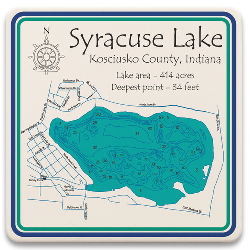 Syracuse Lake LakeArt