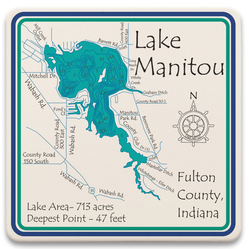 Manitou Lake  LakeArt