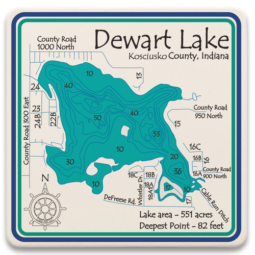 Dewart Lake LakeArt