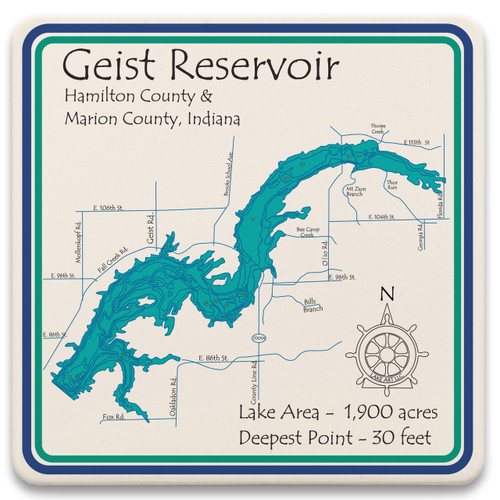 Geist Reservoir LakeArt