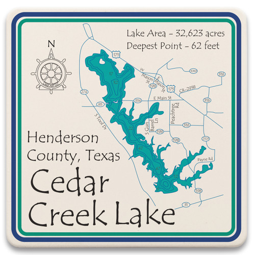 Cedar Creek Lake LakeArt