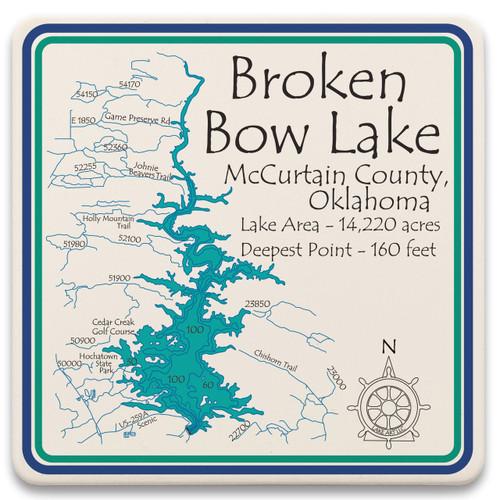 Broken Bow Lake  LakeArt