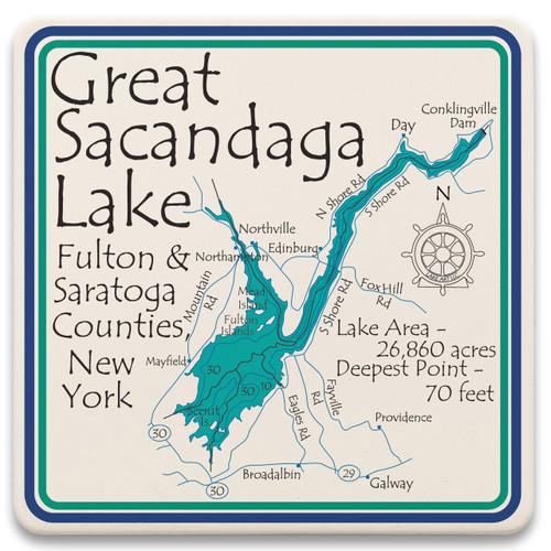 Great Sacandago Lake LakeArt