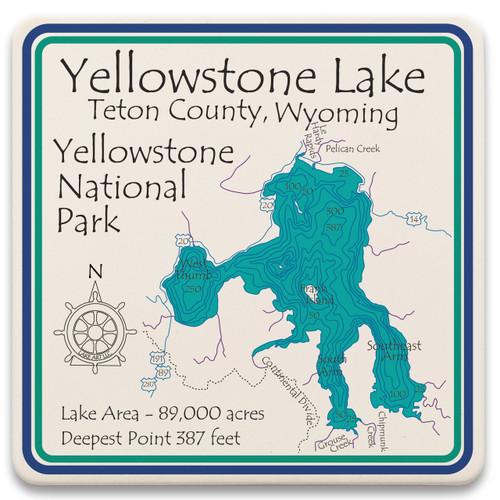 Yellowstone Lake  LakeArt