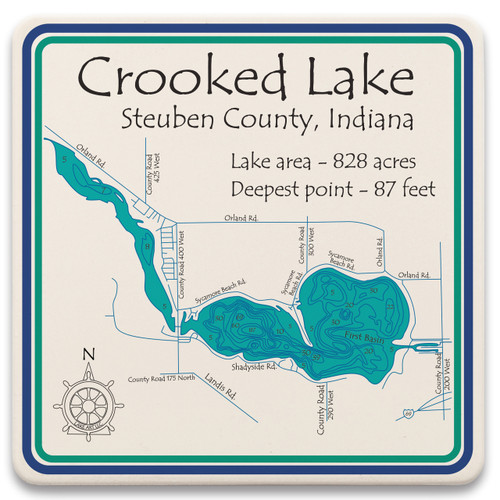 Crooked Lake LakeArt
