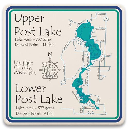 Upper and Lower Post Lake LakeArt