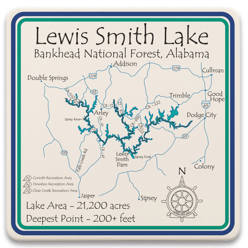 Lewis Smith Lake LakeArt