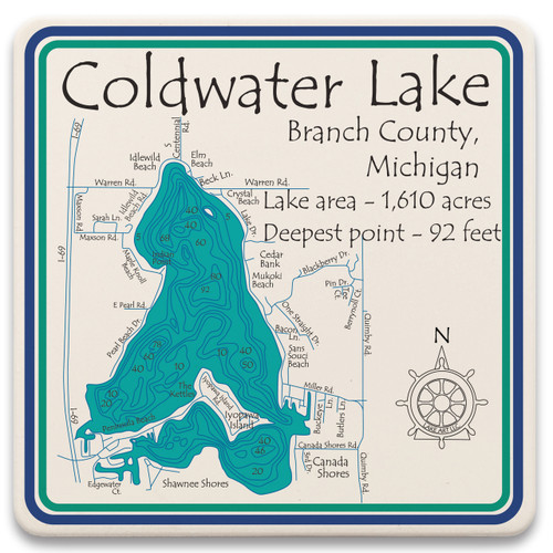 Coldwater Lake LakeArt