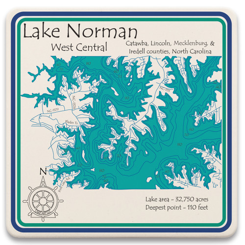 West Central Lake Norman LakeArt