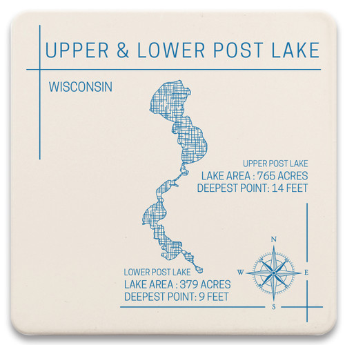Upper and Lower Post Lake North Cove