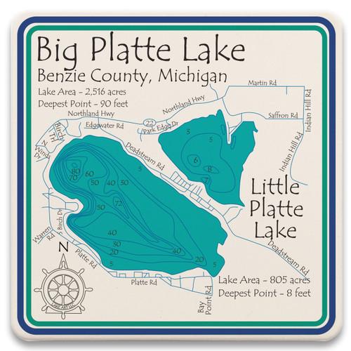 Platte Little Platte Lakes LakeArt
