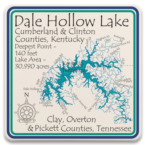 Dale Hollow Lake LakeArt