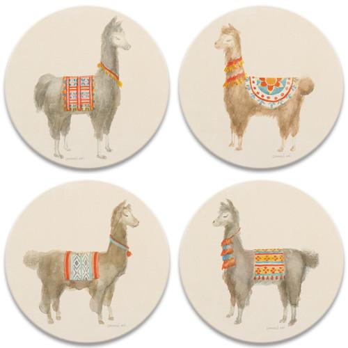 Festive Llamas