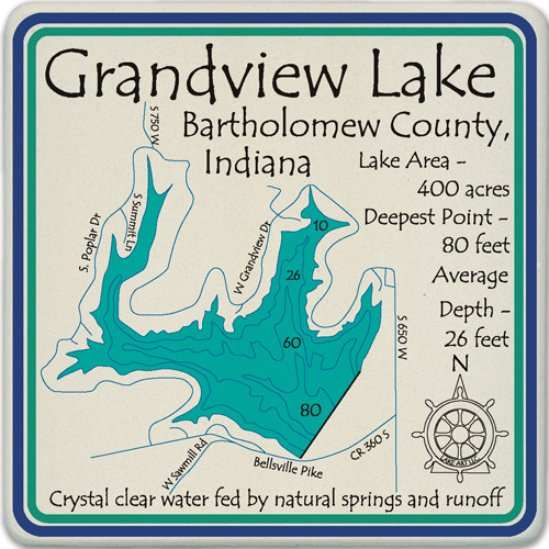 Grandview Lake Lake LakeArt