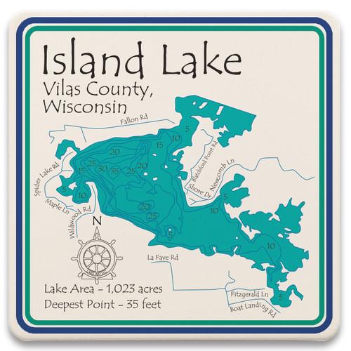 Island Lake LakeArt