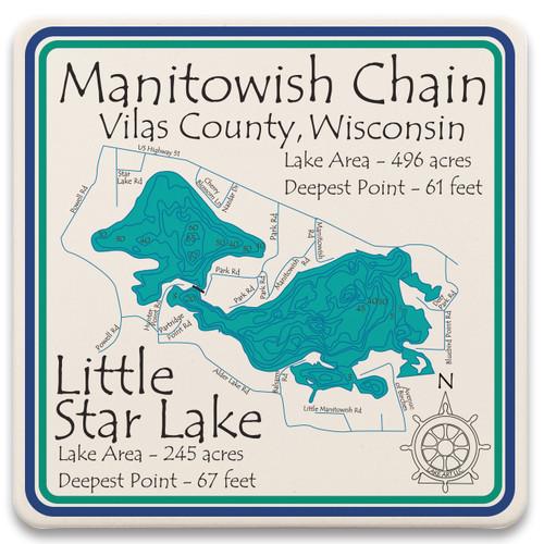 Manitowish Chain of Lake LakeArt