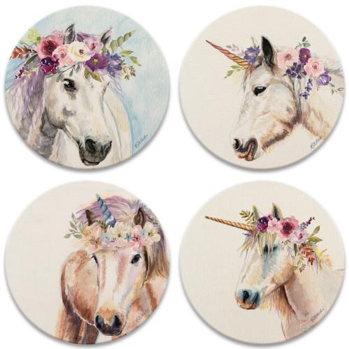Floral Unicorns