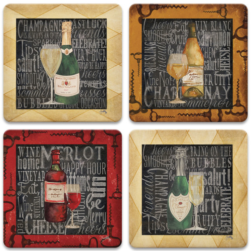 Chalk Art Wine