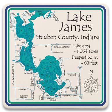 lake james indiana map Lake James Lakeart lake james indiana map
