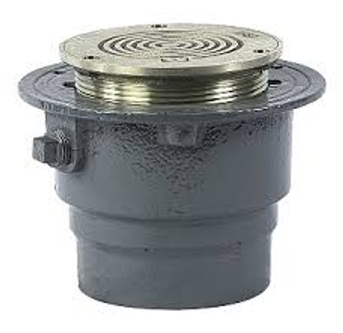Watts FD-100-B Floor Drain with Heavy Duty Round Strainer